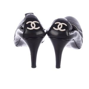 Chanel CC Leather Pumps. Need repair.